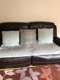 FREE!!!!Leather suite with power recliners