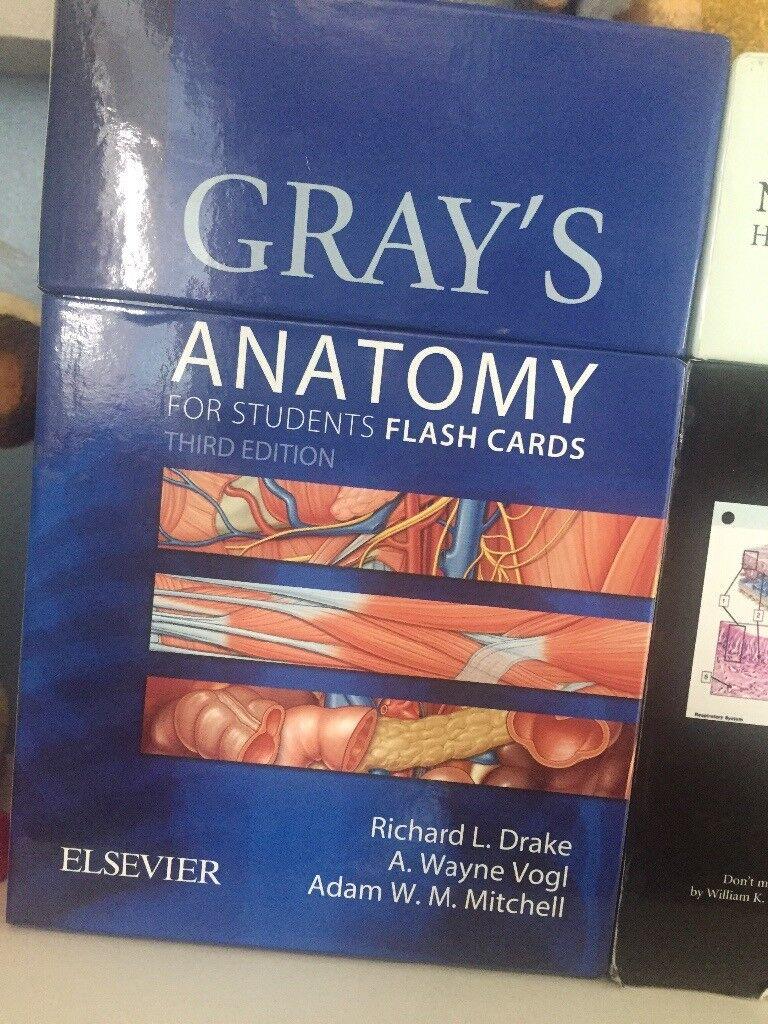 Grays Anatomy Flash Cards In Norwich Norfolk Gumtree