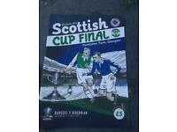 Scottish Cup Final 2016 programme ( Hibs v Rangers)