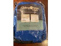 Folding table clothes
