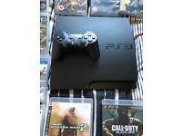 PS3 slim 12 games