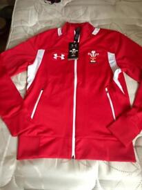 New under armour Wales rugby jacket