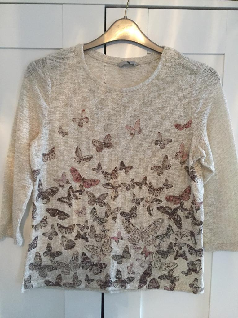 Beautiful Butterfly Jumper size 10