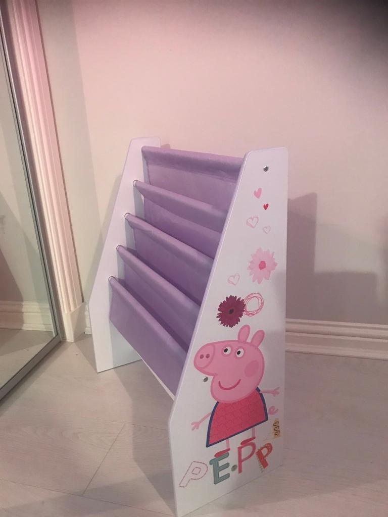 Peppa pig book rack