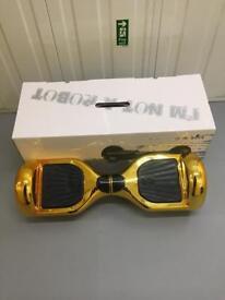 Brand new Gold Chrome Official Swegway
