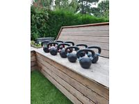 NEW Cast Iron Kettlebells - from 6kg to 28kg