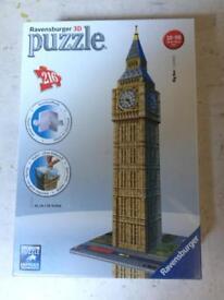 Big Ben puzzle BNIB