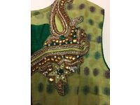** MAY BANK HOLIDAY SUPER DEAL** Traditional Indian Choli Dress - £35 only UK 10-12