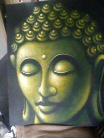 Large Buddha picture