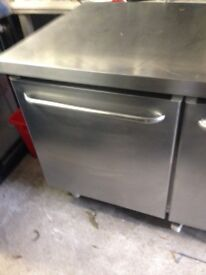 Under counter freezer double door