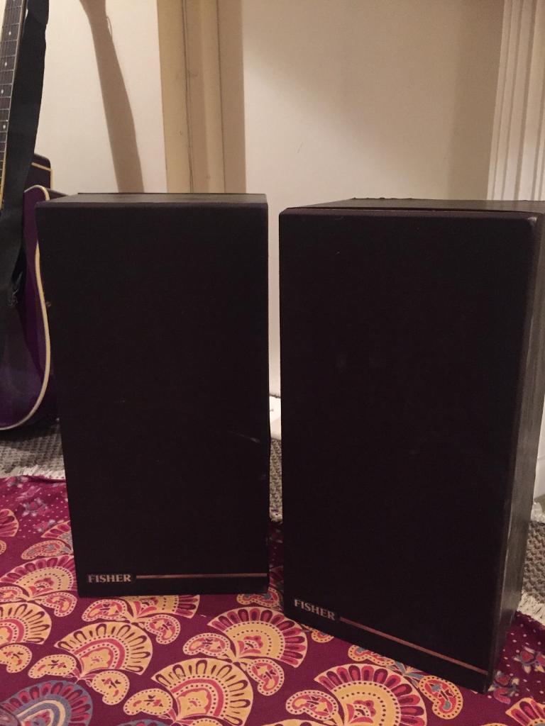 Vintage 40 watt fisher speakers