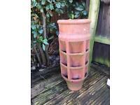 Chimney Pot/ herb planter