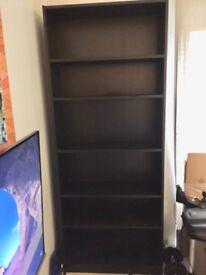 Bookshelf black sturdy good condition