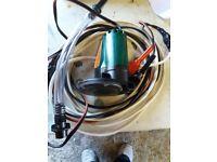 12v high pressure pump for dinghys