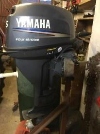 15 horse Yamaha 4 stroke outboard engine