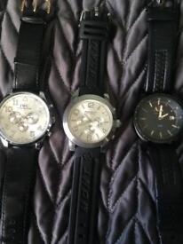 Men's designer watches.