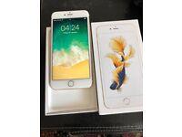 Apples IPhone 6s Plus 128gb Gold Unlocked very good nice phones