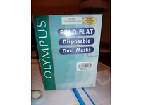Olympus foldflat disposable dustmasks FFP2