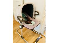 Baby chair and rocker 2-in-1