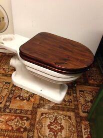 large vinatge toilet