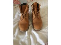 Timberland boots size 9 and a half real not fake