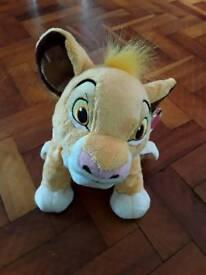 Simba Disney plush toy