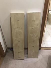 Ikea shelfs brand new.