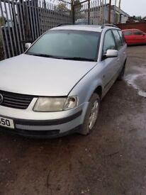 2001 VW PASSAT ESTATE 1.9 TDI BREAKING FOR PARTS