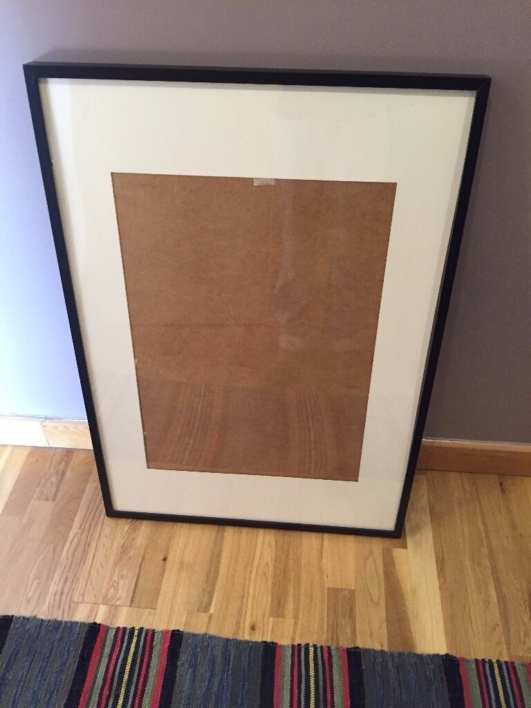 ikea ribba frame in black - 70cm x 100cm - only £5 | in london | gumtree
