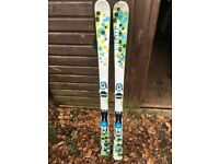 WED'ZE ONE CHARM GIRLS SKIS