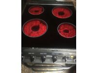 Hotpoint creda electric cooker 50 cm wide