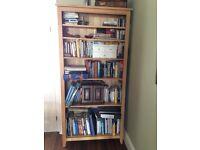 Marks and Spencer Oak Bookcase - 6 shelves