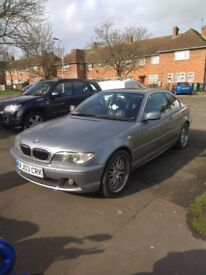 BMW 3 series 320ci can swap for a mini or a corsa