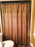 Almost new shower curtain