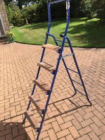 5 step folding safety ladder