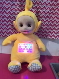 Light up, projection Lala from teletubbies