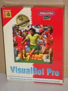 VisualGol Pro vincere al TotoGol programma per Windows Bisanzio Software 1995 - Italia - VisualGol Pro vincere al TotoGol programma per Windows Bisanzio Software 1995 - Italia