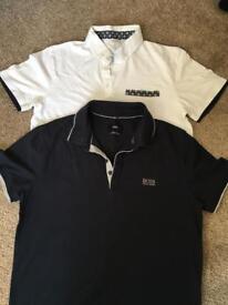 Men's polo shirts size medium, Hugo boss and jack jones