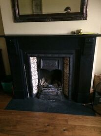 Beautiful Antique slate fireplace for sale