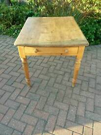 Scrub top farmhouse table. Loads of character