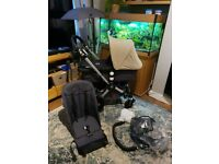 Bugaboo cameleon with accessories. VGC