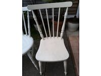 4 Mid century ercol stick chairs