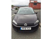Volkswagon VW Golf 1.6 TDi 2010 76k mileage £30 tax bargain FSH cheapest in UK Not GT Sport BMW