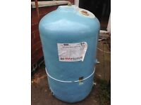 Stainless steel hot water cylinder