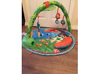 Little tikes swinging playgym