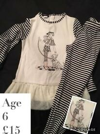 Kate Mack girls outfit 6y