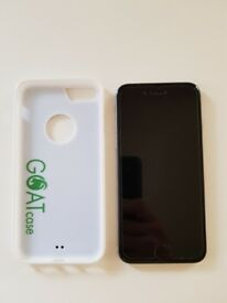 As new 16gb iphone 6 with anti gravity goatcase and origional box