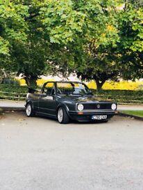 Mk1 golf cabrio 1985 auto gl