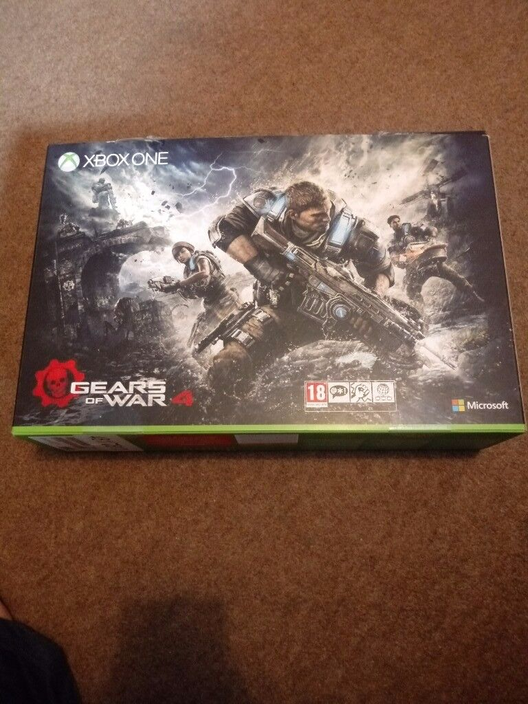Xbox One S Gears of War 4 console
