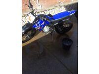 Yamaha xt125r blue